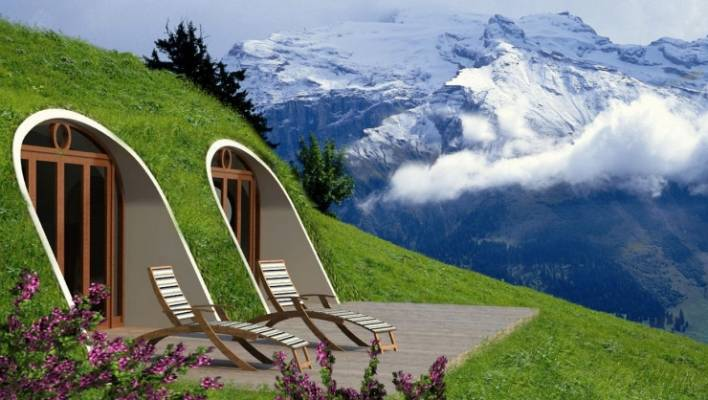 Live Like A Hobbit Green Magic Homes Has Devised Prefabricated Shell That Lets You