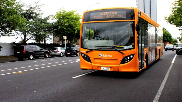 The Outer Link bus is a familiar sight around Auckland's central suburbs.