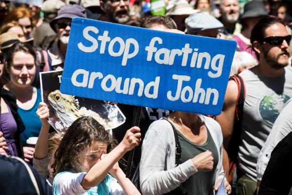 More than 10,000 people turned out for the march through Wellington.