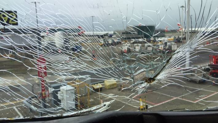 Shattered windscreen forces American Airlines plane to make