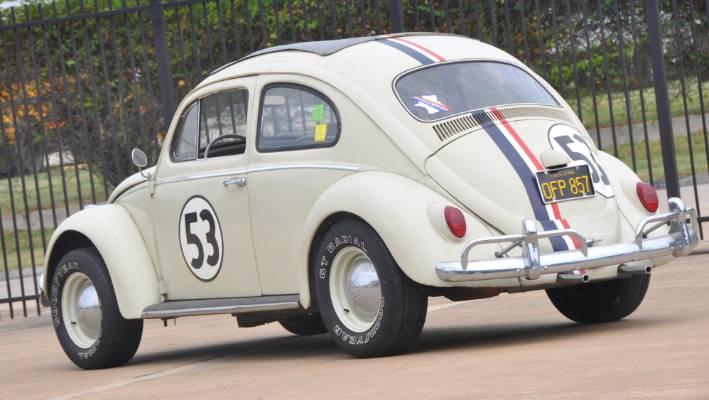 The 1963 Volkswagen Beetle That Starred As Herbie In Two Love Bug