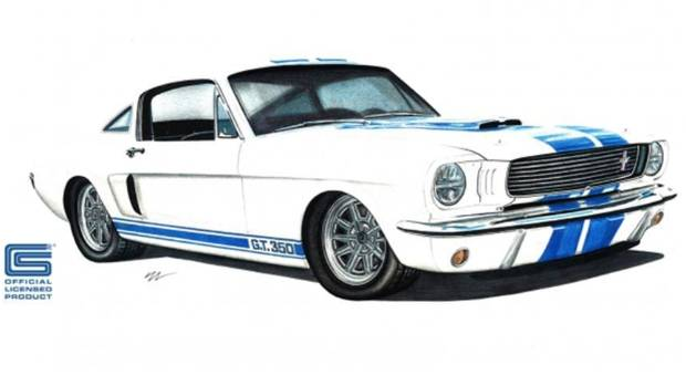 US-based company has been granted the rights to build authentic 1966 Shelby GT350 replicas.