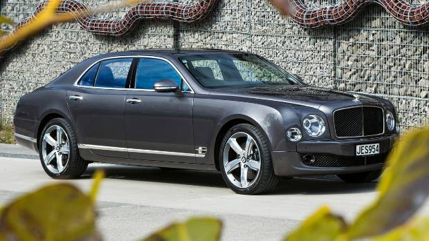 2015 Bentley Mulsanne Speed is for royals and rappers | Stuff.co.nz