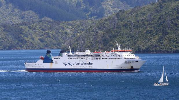 The Aratere ferry is back on the water and able to transport passengers across the Cook Strait after the Wellington link ...