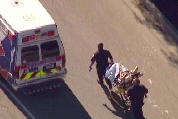 Emergency services are responding to reports of an active shooter at the Inland Regional Centre, a facility for people ...