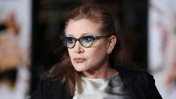 Carrie Fisher died in December 2016.