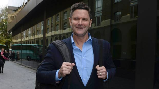 Former New Zealand cricket captain Chris Cairns leaves Southwark Crown Court in London after being cleared by a London ...