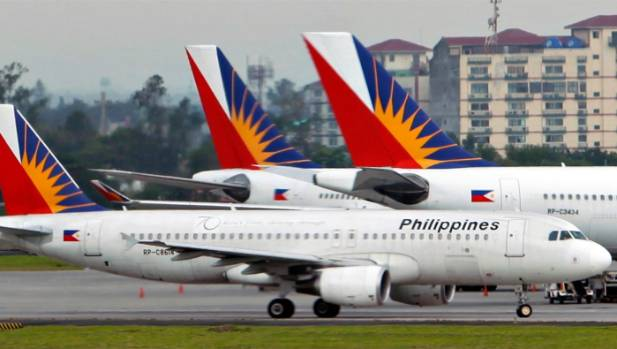 Philippine Airlines lands at Auckland Airport for the ...  Philippine Airl...