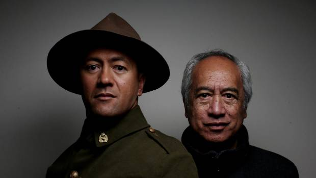 All My Sons playwright Witi Ihimaera, right, and Rob Mokaraka, winner of Actor of the Year at this year's Chapman Tripp ...