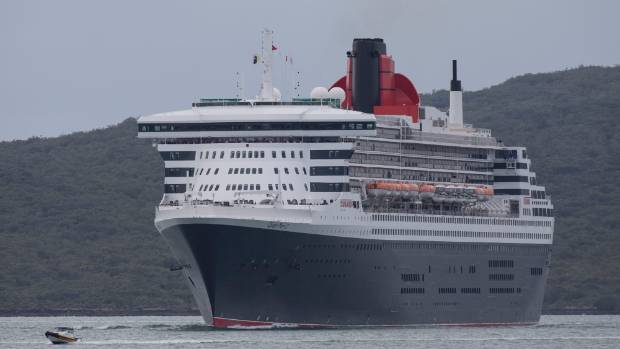 Dozens of large cruise liners visit Auckland each season.