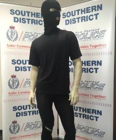 A mannequin dressed in the clothing police believe the offender was wearing when he sexually assaulted a woman in Ross ...
