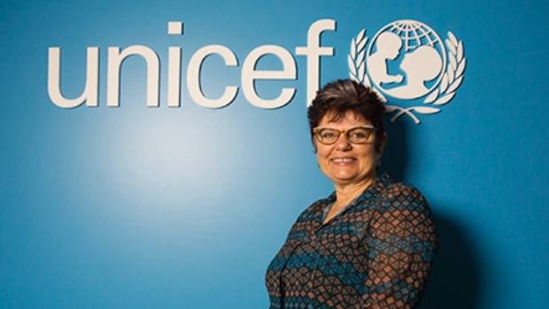 Vivien Maidaborn, executive director of Unicef NZ.