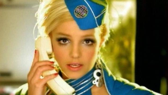 Britney Spears' 'Toxic' Music Video Gets an In-Flight ...  Toxic Britney Spears Flight Attendant