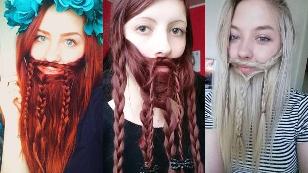 nz girls longhair