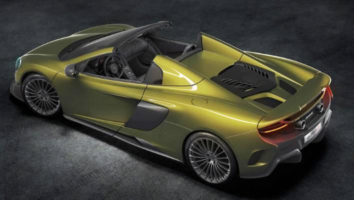 open top mclaren 675lt spider revealed | stuff.co.nz