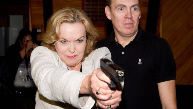 Police Minister Judith Collins says she's very conscious of the pressure on police resourcing.