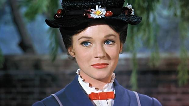 Mary Poppins - the archetypal fun nanny.