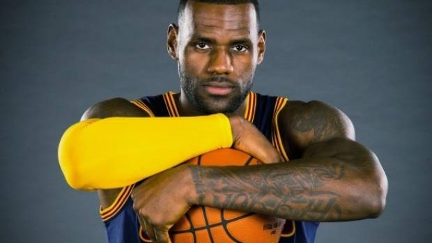 Bumper payday: LeBron James is a Nike athlete for life.