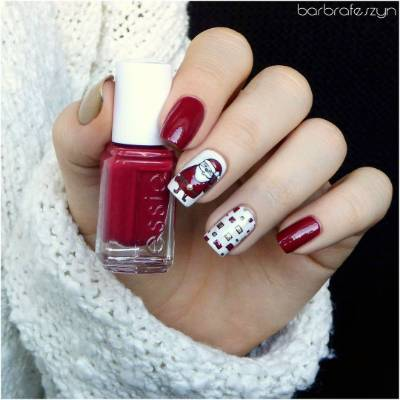 Festive Nail Art See All The Best Manicure Designs For Christmas