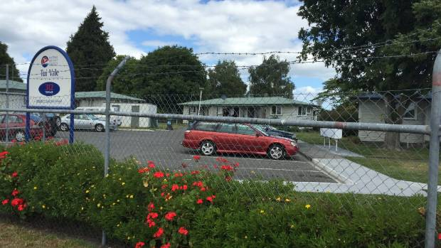 Residents at the Tui Vale pensioner housing complex were among those forced to evacuate after the gas leak.