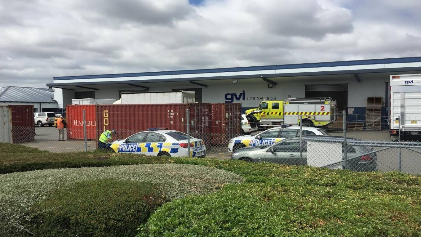 Shooting In Christchurch Hd: Man Dead After Being Crushed By Trucks At Christchurch