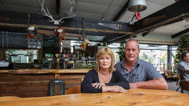 Dwayne and Tiffany Vaughan say they're closing their business following a year-long battle with Christchurch City Council.