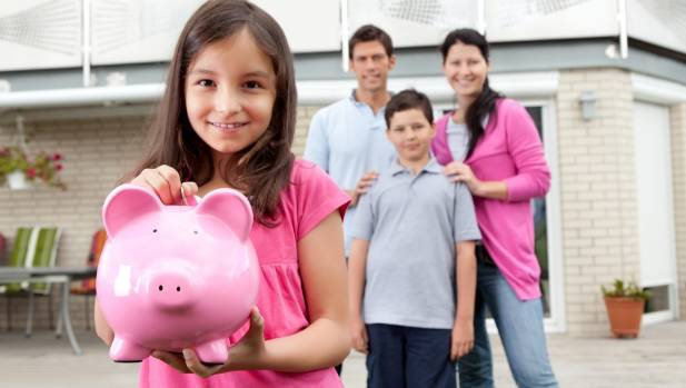 Parents are being urged to start saving early for their kids' education.