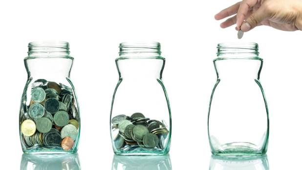 Have more than one savings account so you do not have to raid your piggy bank for emergencies.