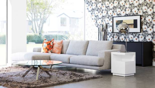 The right way - wherever possible, pull furniture away from the walls to create a more intimate seating area.