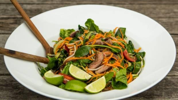 Recipe: Vietnamese beef salad