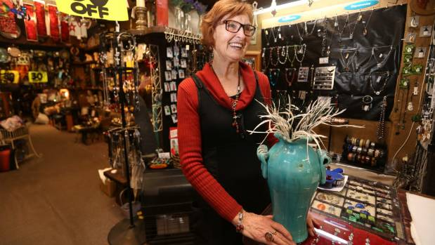 Wood Shed owner Heather Thomson is closing down the giftstore after 40 years in business on Dee St.