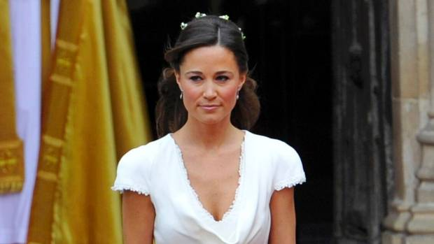Pippa Middleton was maid of honour at the 2011 wedding of her sister Kate to Prince William.
