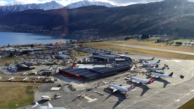 Queenstown Airport: sneaking up as the South Island's tourist gateway with Auckland strategic partnership.