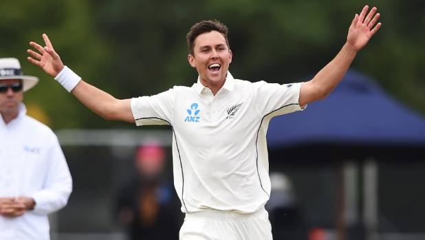 Black Caps pace bowler Trent Boult will be hoping he can get his hands on the ball early on Friday morning.