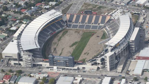 Quake-damaged Lancaster Park is included in a global settlement the Christchurch City Council has reached with its insurer.