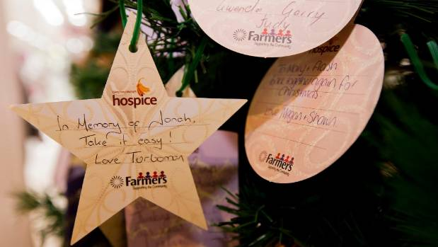 An Arohanui Hospice and Farmers tree of remembrance in Palmerston North had a dedication to Jonah Lomu.