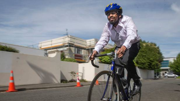 Pubudu Senanayake has become a cycling convert with it being his preferred mode of transport to work.