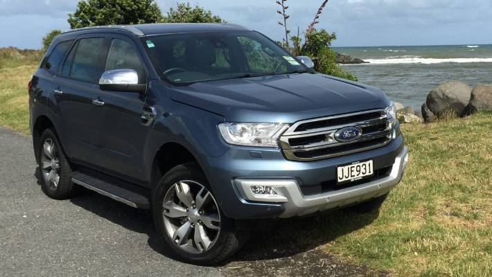 2018 Ford Everest: One Of Brand's Most Capable SUVs Ever >> New Ford Everest Capable Both On And Off The Road Stuff Co Nz