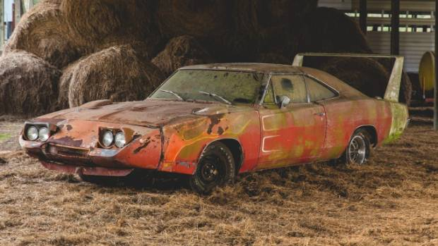 The Rusting 1969 Dodge Charger Daytona