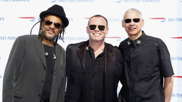 Ali Campbell, Astro and Mickey Virtue comprise the rival UB40 line up.