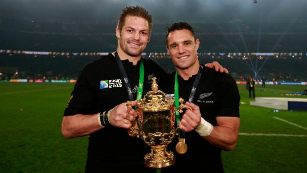 Richie McCaw's mate Dan Carter is made an Officer of the New Zealand Order of Merit.