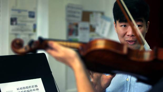 Teaching the violin is Ben Lim's way of spreading his love for the instrument.