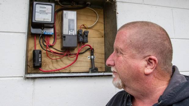 clanging meter racks up thousands in power bills keeps couple awake rh stuff co nz Power Meter Box Parts Diagram Power Meter Box Parts Diagram
