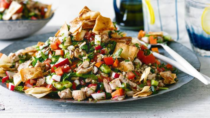 Recipe Israeli Chopped Chicken Salad Stuff