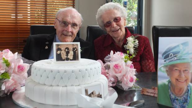 Richard and Jean Coveney have celebrated their 70th wedding anniversary with family and friends.