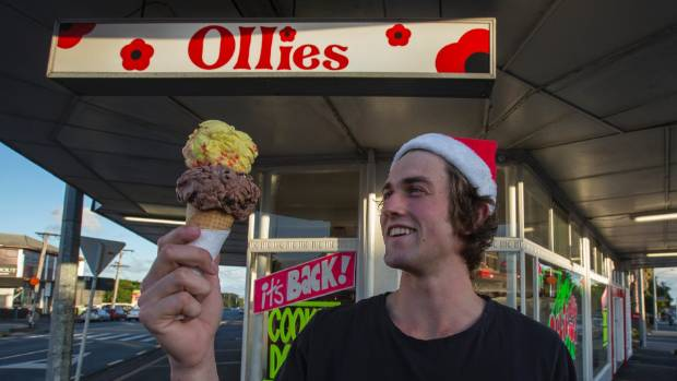 For the no frills ice cream of your youth - head to Ollies in Onehunga.