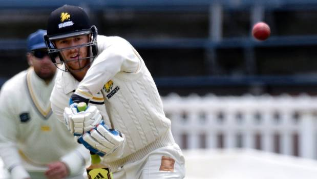 Michael Pollard's 50 helped his Wellington Firebirds side reach a competitive position on day one of the Plunket Shield ...