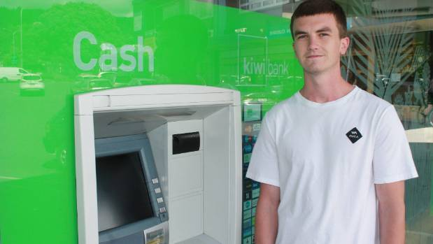 Craig Herries was unable to use the Coastland's Kiwibank ATM after it was targeted by scammers.