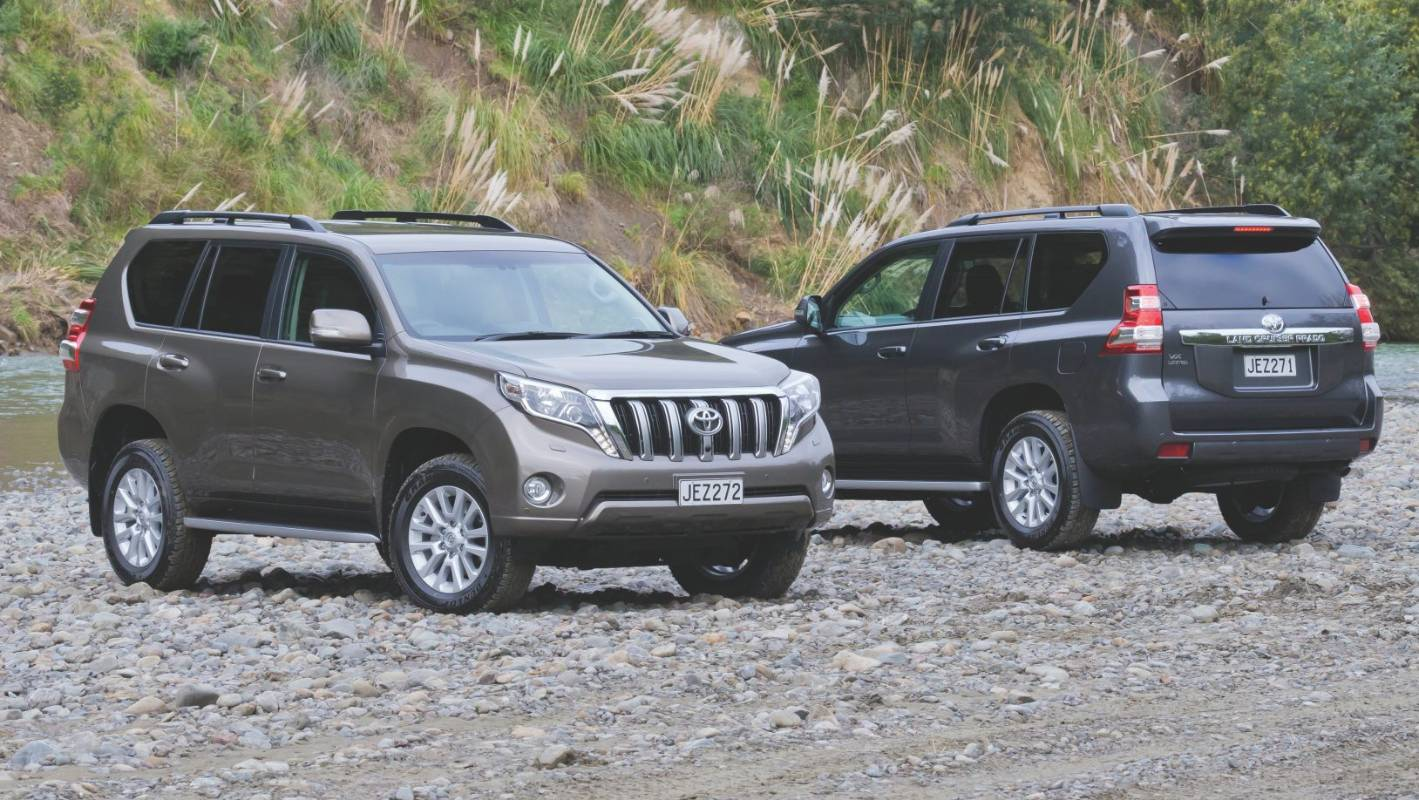 Toyota Prado: A tale of two engines   Stuff co nz