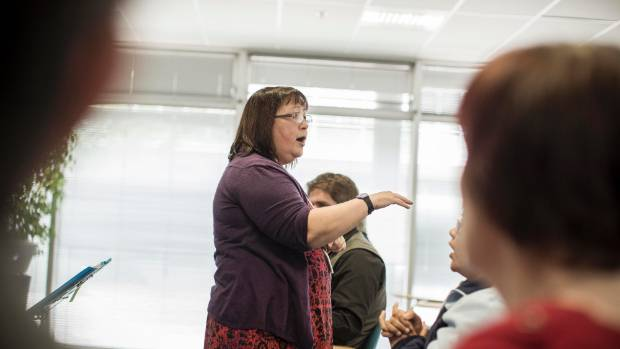 Auckland University's CeleBRation Choir, led by music therapist Alison Talmage, is part science experiment, part ...
